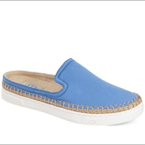 955b4b94c1c Ugg Caleel Skyline Blue Slip Ons
